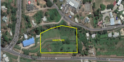 ROADSIDE COMMERCIAL BLOCK FOR SALE