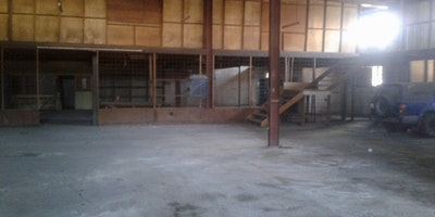 LARGE WAREHOUSE FOR SALE