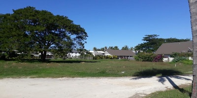 Residential beachfront lots